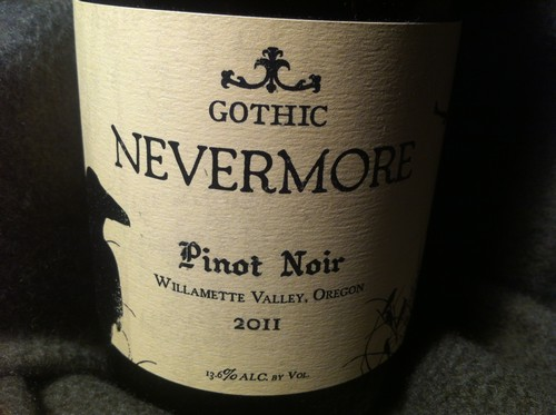 Nevermore 2011 Label